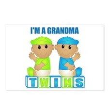 I'm A Grandma (TBB:blk) Postcards (Package of 8)