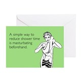 Shower Time Greeting Card