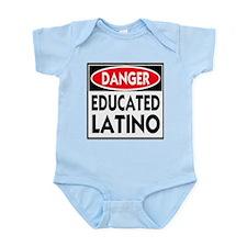 Danger Educated Latino Infant Bodysuit