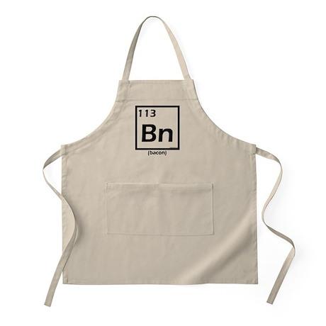Elemental bacon periodic table Apron