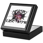 Music Like Wow Keepsake Box