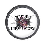Music Like Wow Wall Clock