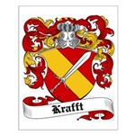 Krafft Coat of Arms Small Poster