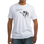 Office Workouts Fitted T-Shirt
