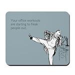 Office Workouts Mousepad