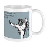 Office Workouts Small Mug