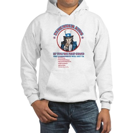 Remeber Kids (worn) Hooded Sweatshirt