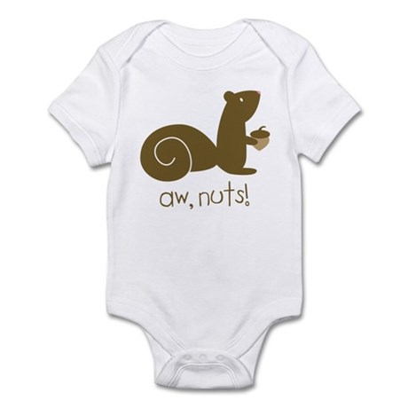 Aw Nuts Squirrel Infant Bodysuit