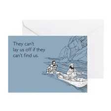 Lay Us Off Greeting Cards (Pk of 10)