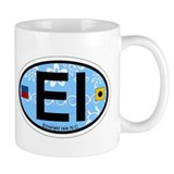 Emerald Isle NC - Oval Design Mug