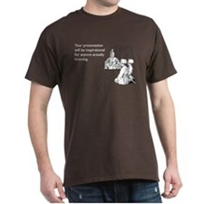 Inspirational Presentation Dark T-Shirt