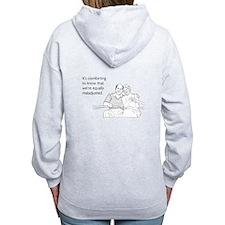 Equally Maladjusted Women's Zip Hoodie