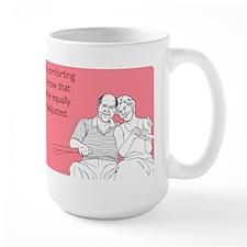 Equally Maladjusted Large Mug