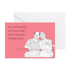 Equally Maladjusted Greeting Cards (Pk of 20)