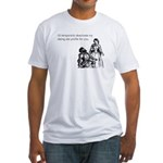 Dating Profile Fitted T-Shirt