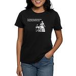 Dating Profile Women's Dark T-Shirt