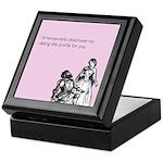 Dating Profile Keepsake Box