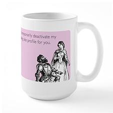 Dating Profile Large Mug