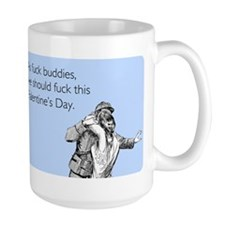 Fuck Buddies Large Mug