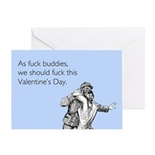 Fuck Buddies Greeting Card