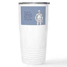 Germ-Infested Hands Travel Mug
