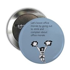 """Boost Office Morale 2.25"""" Button"""