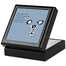 Boost Office Morale Keepsake Box
