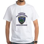 San Bernardino District Attor White T-Shirt
