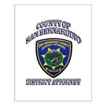 San Bernardino District Attor Small Poster