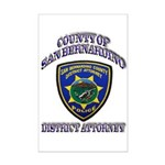 San Bernardino District Attor Mini Poster Print