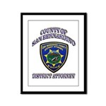 San Bernardino District Attor Framed Panel Print