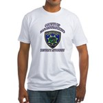 San Bernardino District Attor Fitted T-Shirt