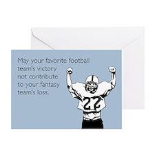 Fantasy Football Greeting Card
