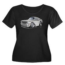 Duster White-Black Car T