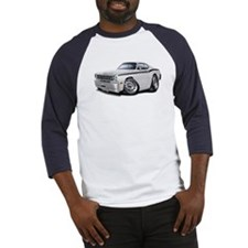 Duster White-Black Car Baseball Jersey