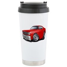 1970-74 Duster Red Car Ceramic Travel Mug
