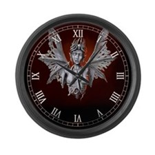 decaying lilith Large Wall Clock