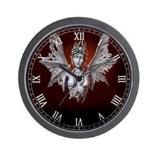 decaying lilith Wall Clock