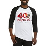 Yung No Mo 40th Birthday Baseball Jersey