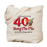 Yung No Mo 40th Birthday Tote Bag