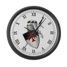 templar Large Wall Clock