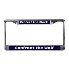 Protect the Flock License Plate Frame