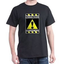 Accident Prone Black T-Shirt