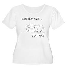 Looks Can't Kill (cat) T-Shirt