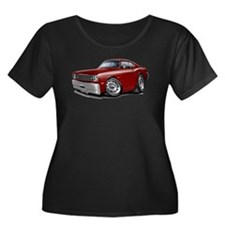 Duster Maroon-White Car T