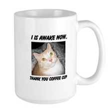 I Is Awake Cat Mug