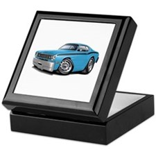 Duster Lt Blue-Black Car Keepsake Box