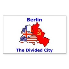 Berlin: The Divided City Rectangle Decal