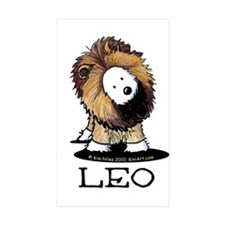 LEO Lion Westie Decal