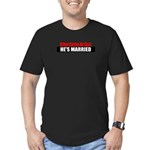 Driver Carries No Cash Men's Fitted T-Shirt (dark)